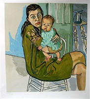 nancy and olivia by alice neel