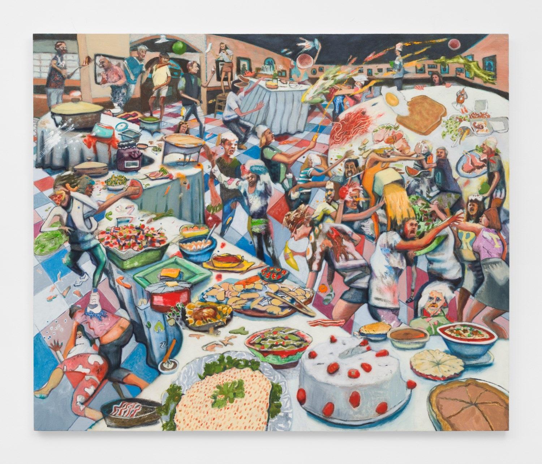 Food Fight Club By Rob Thom On Artnet