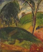 fauvist landscape by alfred henry maurer