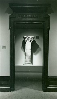 window column from the chicago stock exchange building by louis henri sullivan