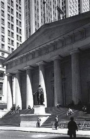 federal hall by james iska