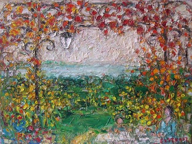 ma tonelle à l'automne by andré cottavoz