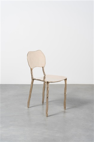 Clay Dining Chair Bronze (polished) By Maarten Baas