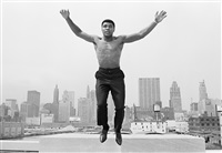 Ali jumping, 1966