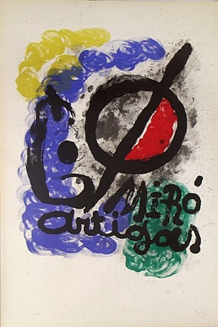 miro artigas by joan miró