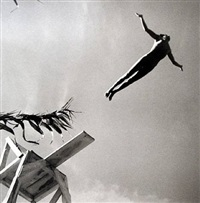 the diver, las delicias, taxco by fritz henle