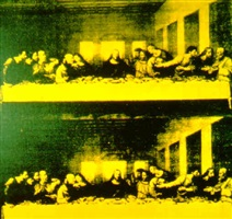 last supper by andy warhol