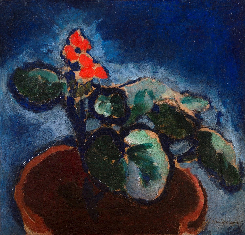 Composition A La Fleur Rouge By Kees Van Dongen On Artnet