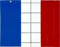 bleu-blanc-rouge by jean-pierre raynaud