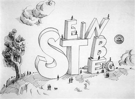 untitled by saul steinberg