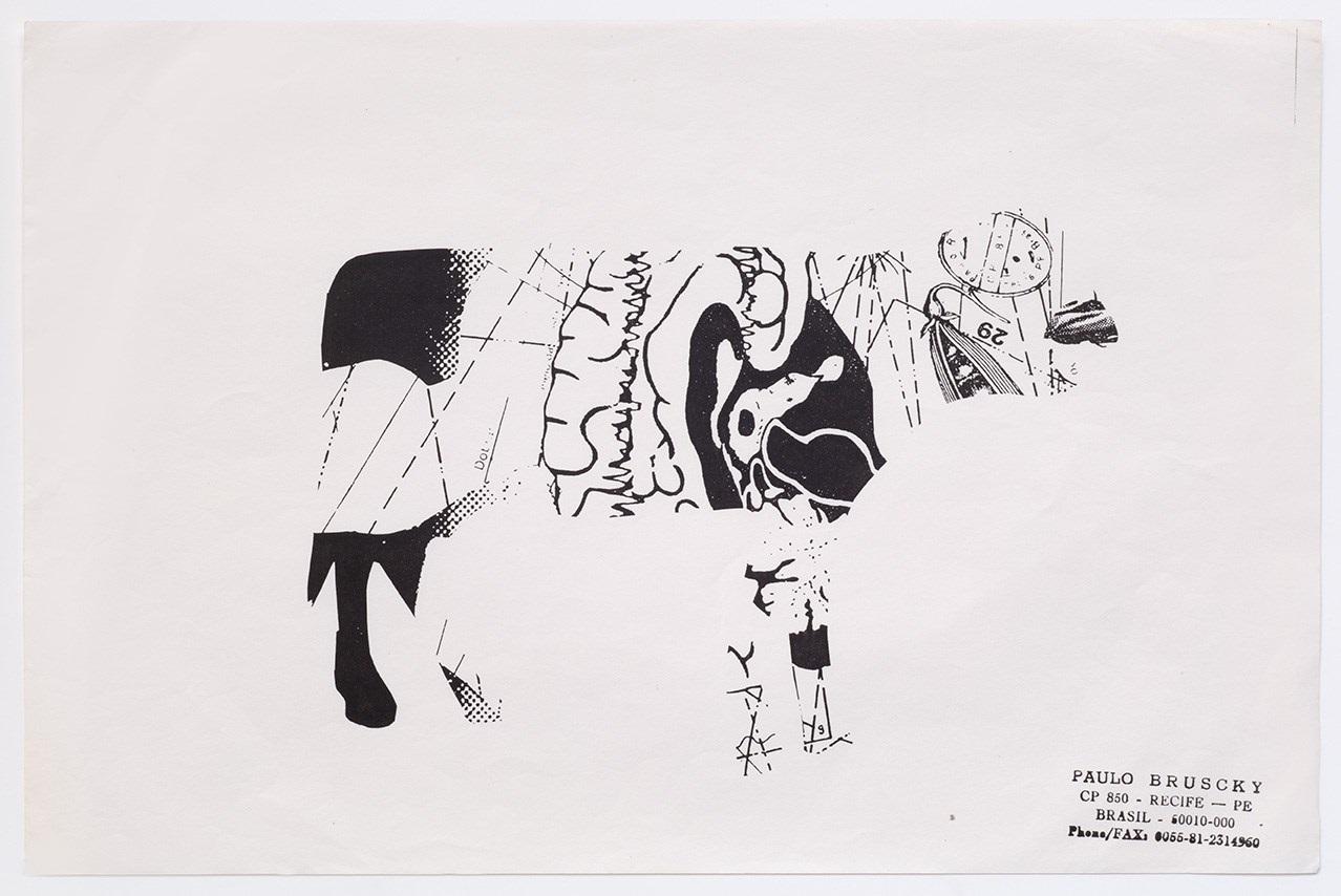 Visual Cow Poem I, II, III, IV, V by Paulo Bruscky on artnet