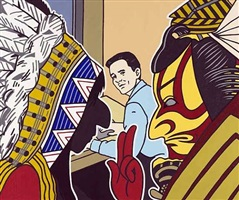 two characters by roger shimomura