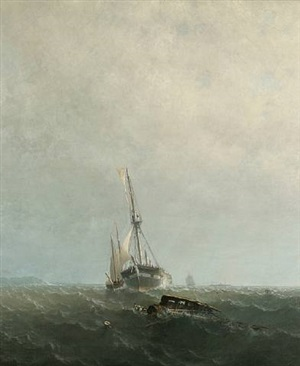 the broken mast by george curtis