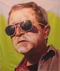 portrait of gwb by andrew lenaghan