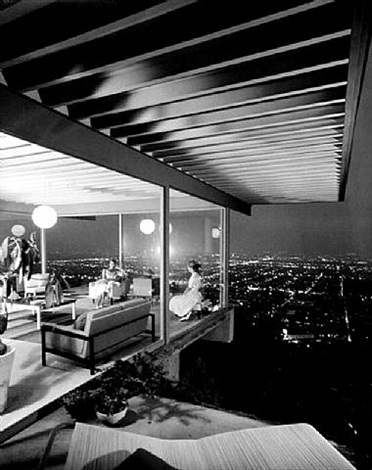 case study house #22, los angeles, ca (pierre koenig) by julius shulman