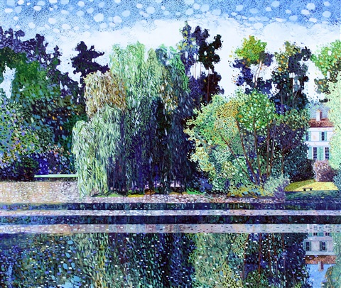 Willow on the Sevre by Victor Richardson on artnet