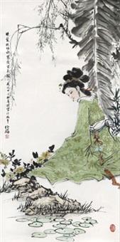 仕女图 by bai bohua