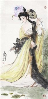 唐代仕女 by bai bohua