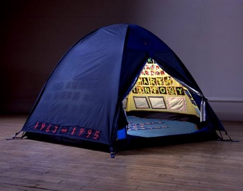 everyone i have ever slept with 1963 - 1995 by tracey emin