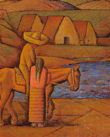 In the Ranch, Mexico by Alfredo Ramos Martínez on artnet