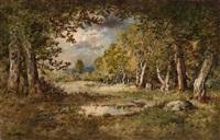 La Clairière en automne, 1876