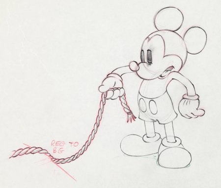 society dog show mickey mouse animation drawing walt disney 1939 by