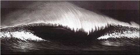wave by robert longo