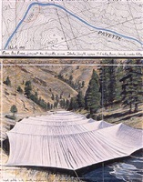 over the river. project for the payette river, idaho by christo and jeanne-claude