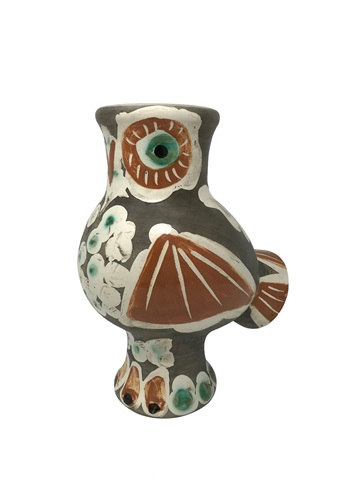Ceramic Owl Vase Chouette Rami 543 By Pablo Picasso On Artnet