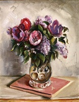 tulips and lilacs by charles rosen