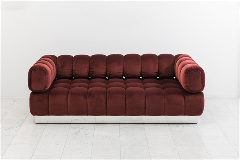 Jumbo Tufted Sofa By Todd Merrill