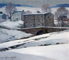 old mill, royersford by arthur meltzer
