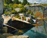the swimming hole by joseph newman