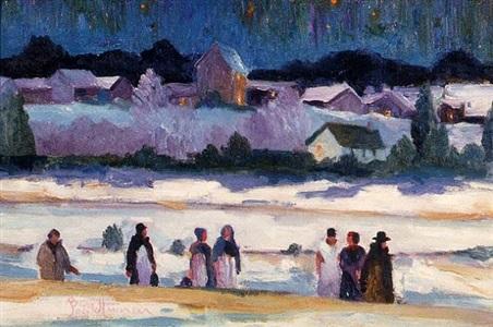 night walkers by joseph barrett