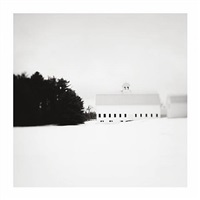 barn (looking north), windsor maine by dirk mcdonnell