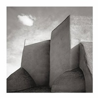 church of st. francis of assisi, rancho de taos, new mexico by dirk mcdonnell