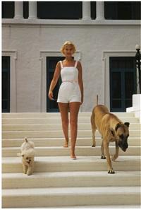 C.Z. Guest, Villa Artemis, Palm Beach, Florida, 1955