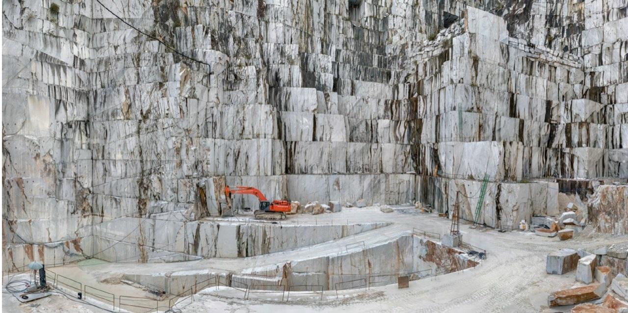 Carrara Marble Quarries 2, Canal Grande, Fantiscritti Basin
