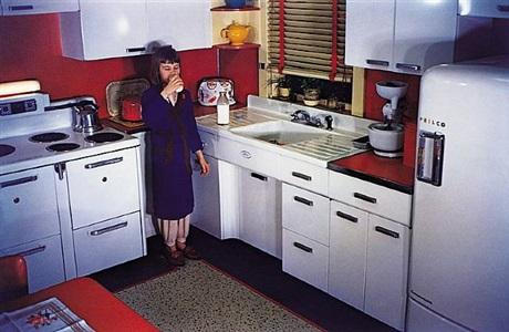 'americans in kodachrome' edited by guy stricherz (girl drinking milk, allentown, pennsylvania. h. donald bortz, photographer) by guy stricherz