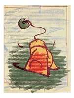 tea bag by claes oldenburg