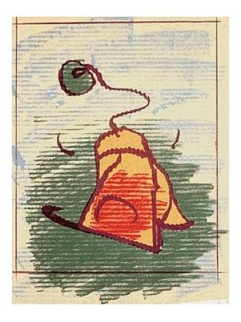 tea bag by claes oldenburg