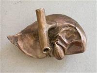 little organ: heart (1:1) by atelier van lieshout