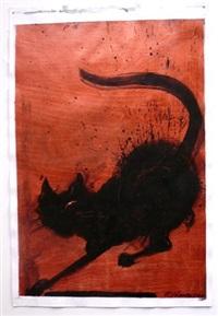untitled (cat) by richard hambleton