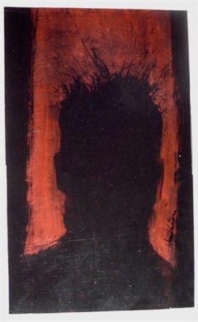 untitled head by richard hambleton