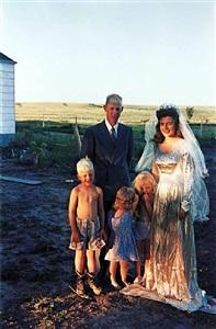 'americans in kodachrome' edited by guy stricherz (seventh wedding anniversary, hermosa, south dakota. irvin evans, photographer) by guy stricherz