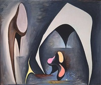 magical forms by lorser feitelson