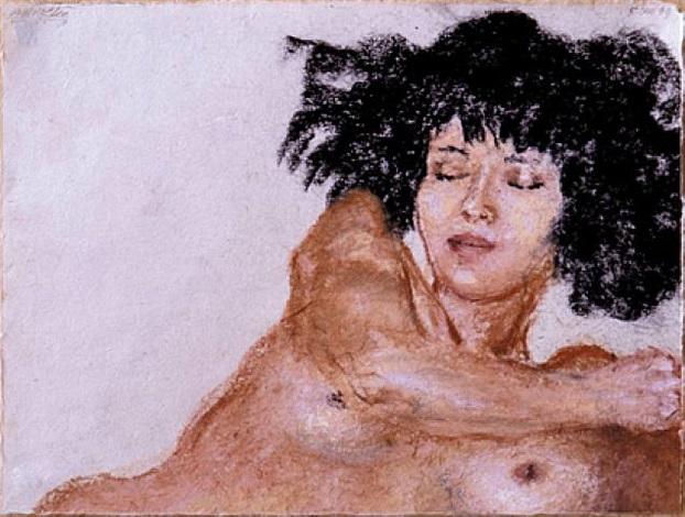 head and shoulders, 1999 by avigdor arikha