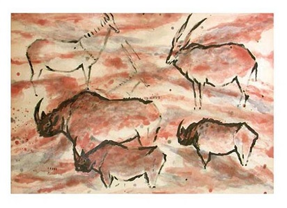 untitled (lacaux series) by elaine de kooning
