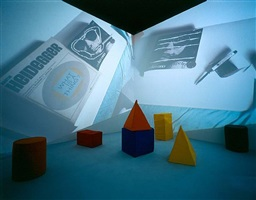 cosmococa2: onobject (collaboration with neville d'almeida) by helio oiticica