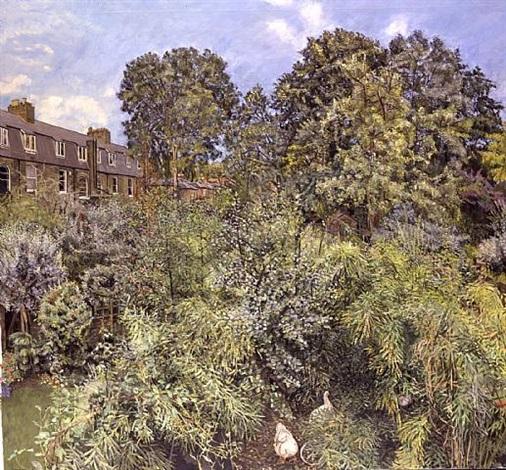 gardens, mid summer by christopher bramham